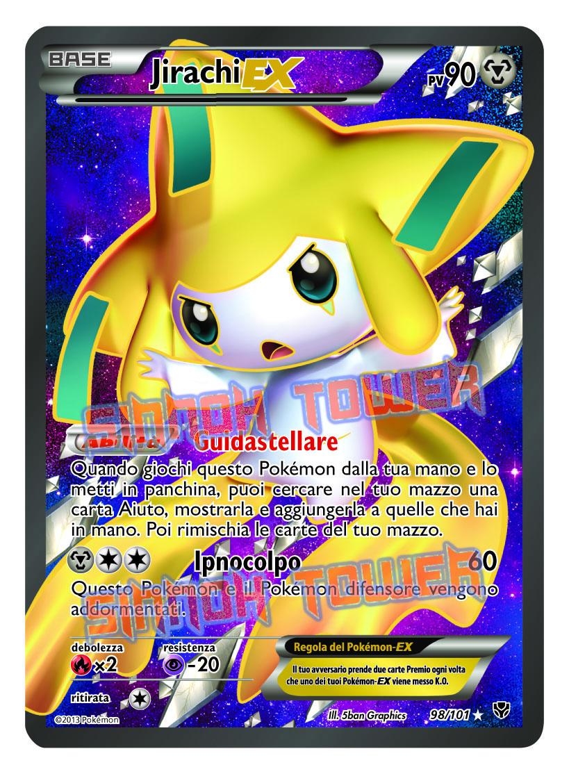 Espansione nero e bianco esplosione plasma del gcc - Carte pokemon jirachi ...